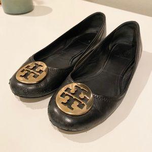 Tory Burch Reva Black & Gold